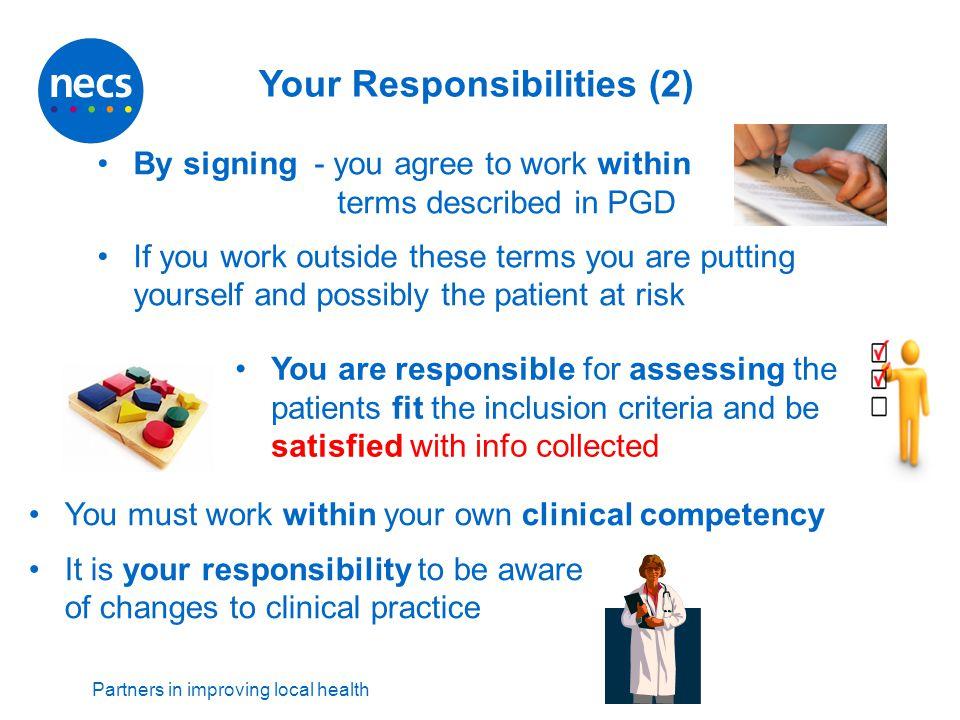 Your Responsibilities (2)