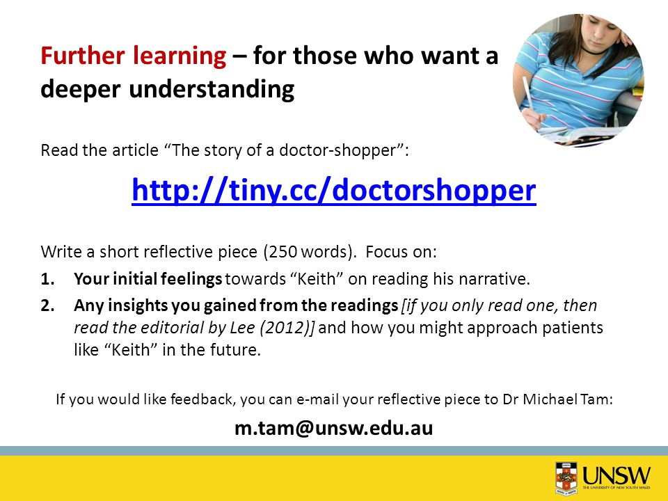 Further learning – for those who want a deeper understanding