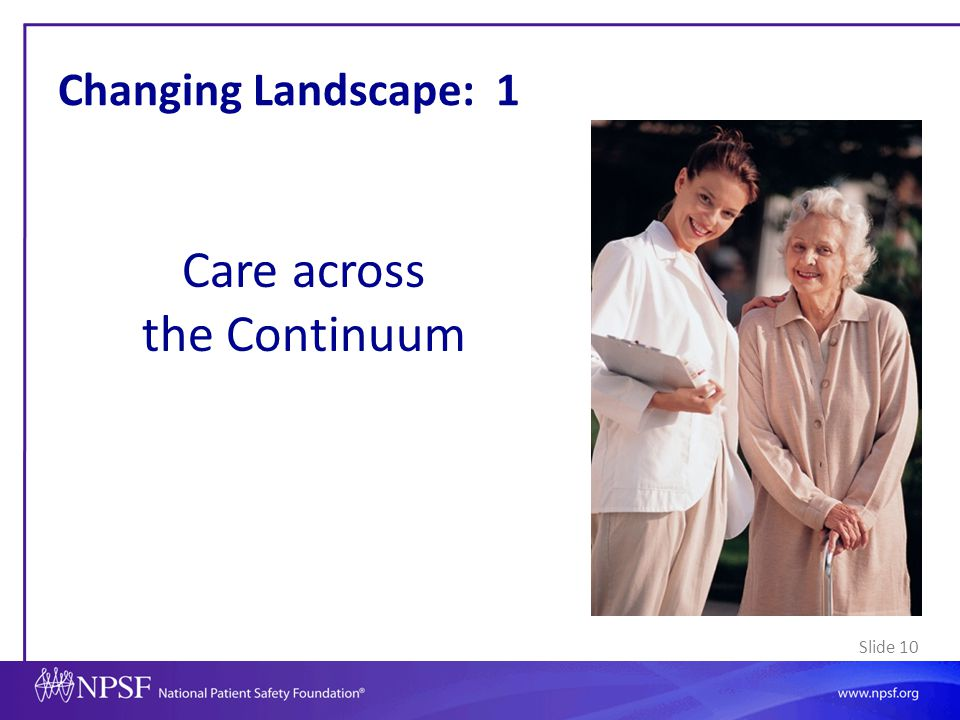 Care across the Continuum