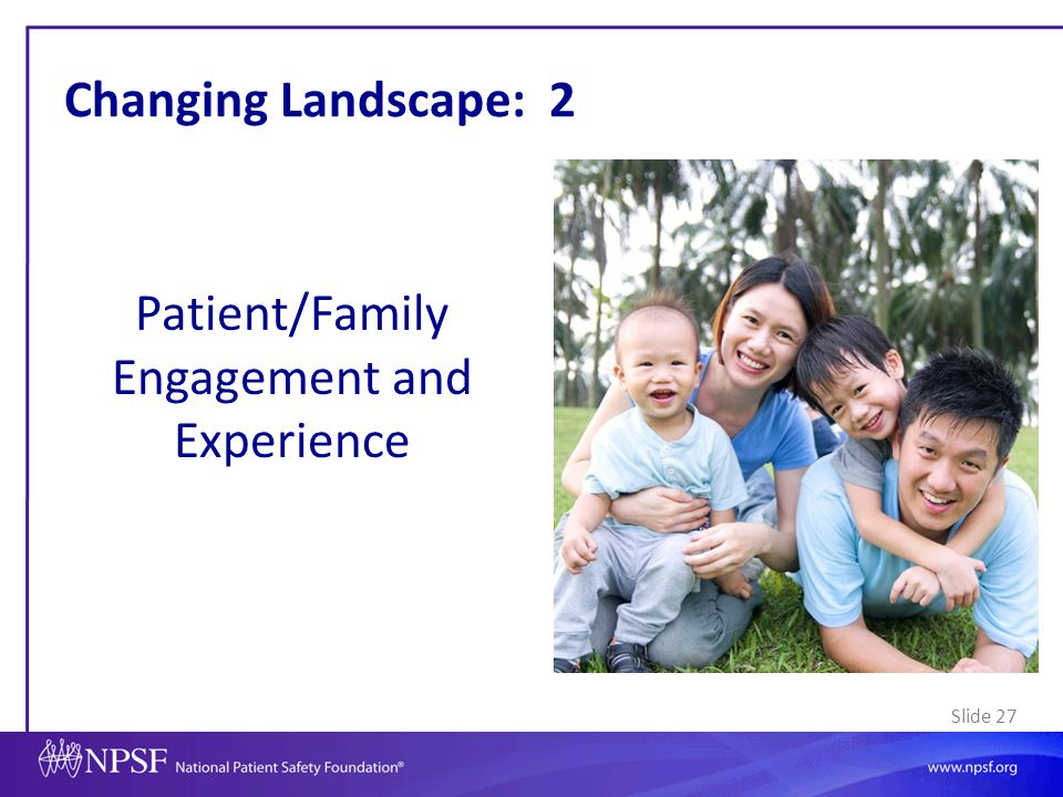 Patient/Family Engagement and Experience