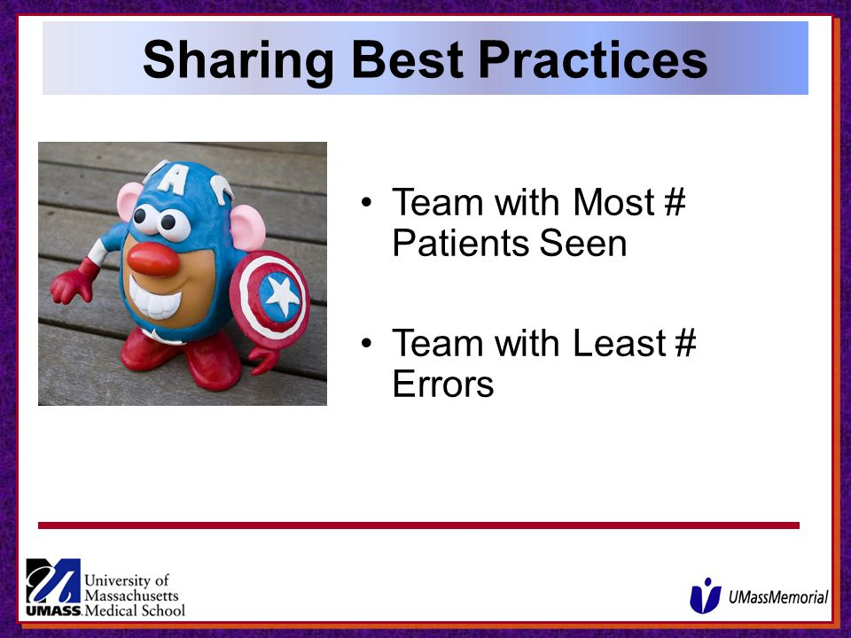Sharing Best Practices
