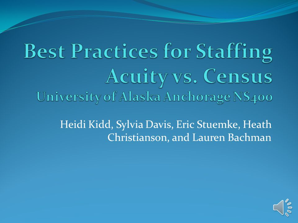 Best Practices for Staffing Acuity vs