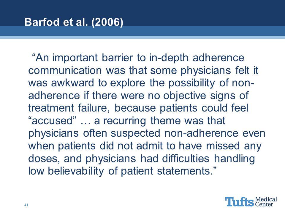 Barfod et al. (2006)