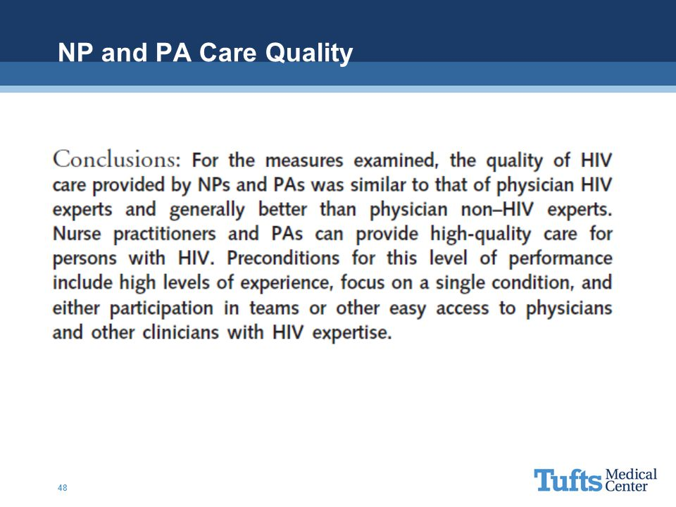 NP and PA Care Quality