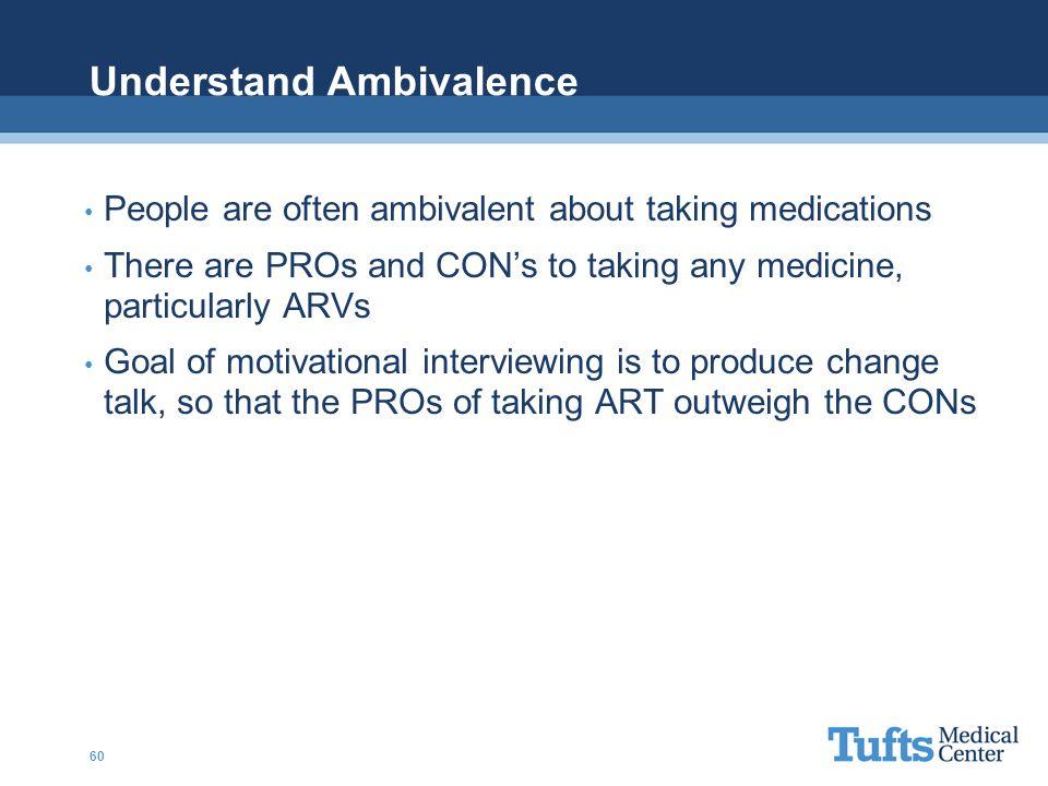 Understand Ambivalence