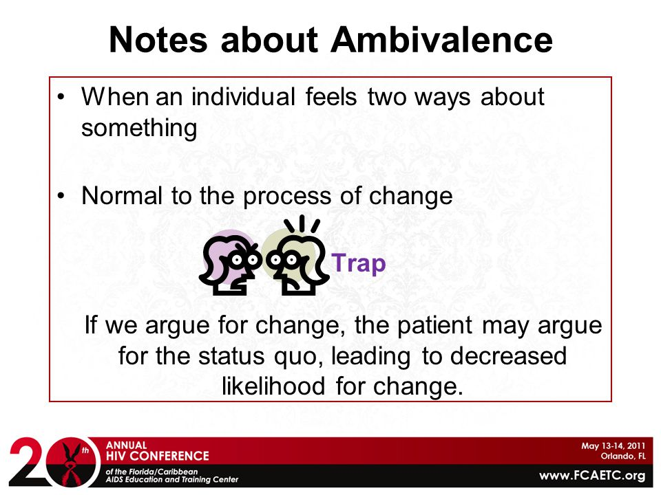Notes about Ambivalence