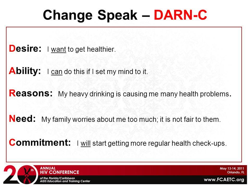 Change Speak – DARN-C