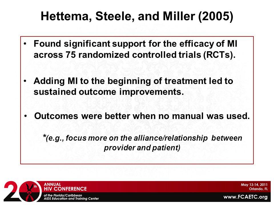 Hettema, Steele, and Miller (2005)