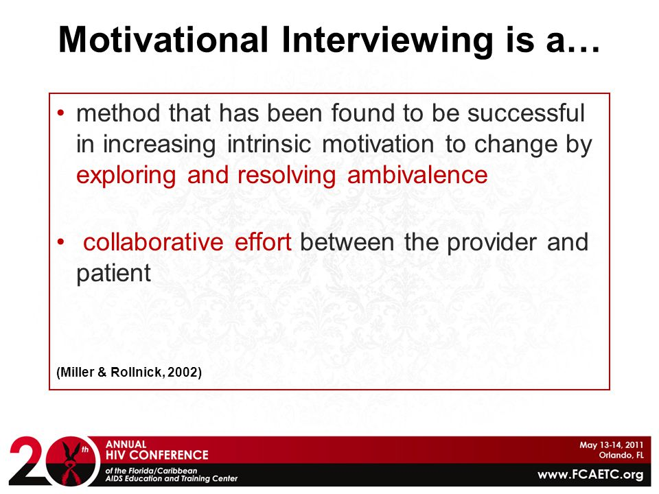Motivational Interviewing is a…