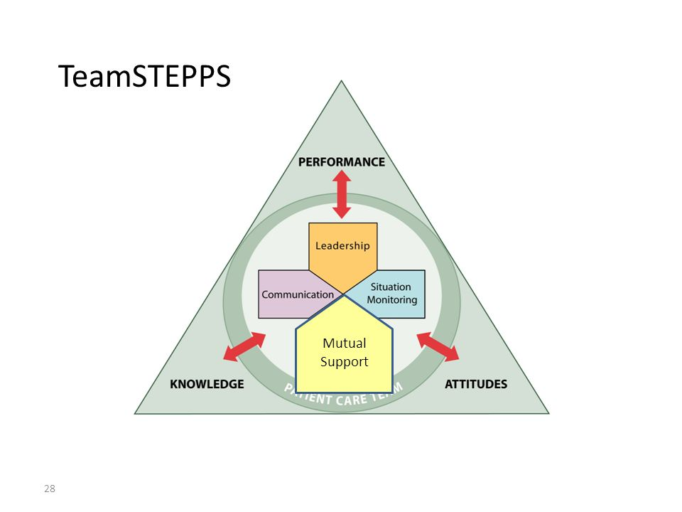 TeamSTEPPS Mutual Support