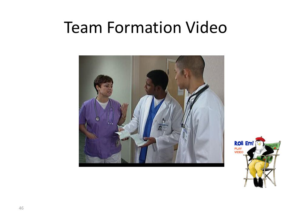 Team Formation Video
