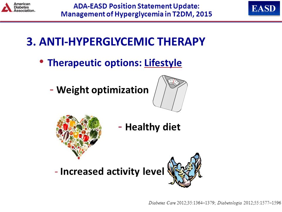 3. ANTI-HYPERGLYCEMIC THERAPY