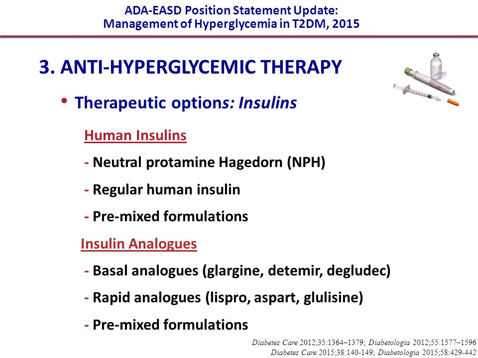 3. ANTI-HYPERGLYCEMIC THERAPY