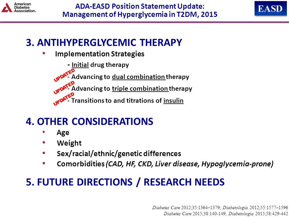 3. ANTIHYPERGLYCEMIC THERAPY