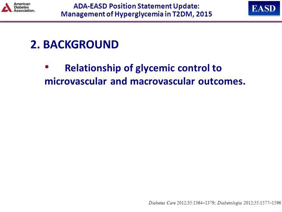 ADA-EASD Position Statement Update: