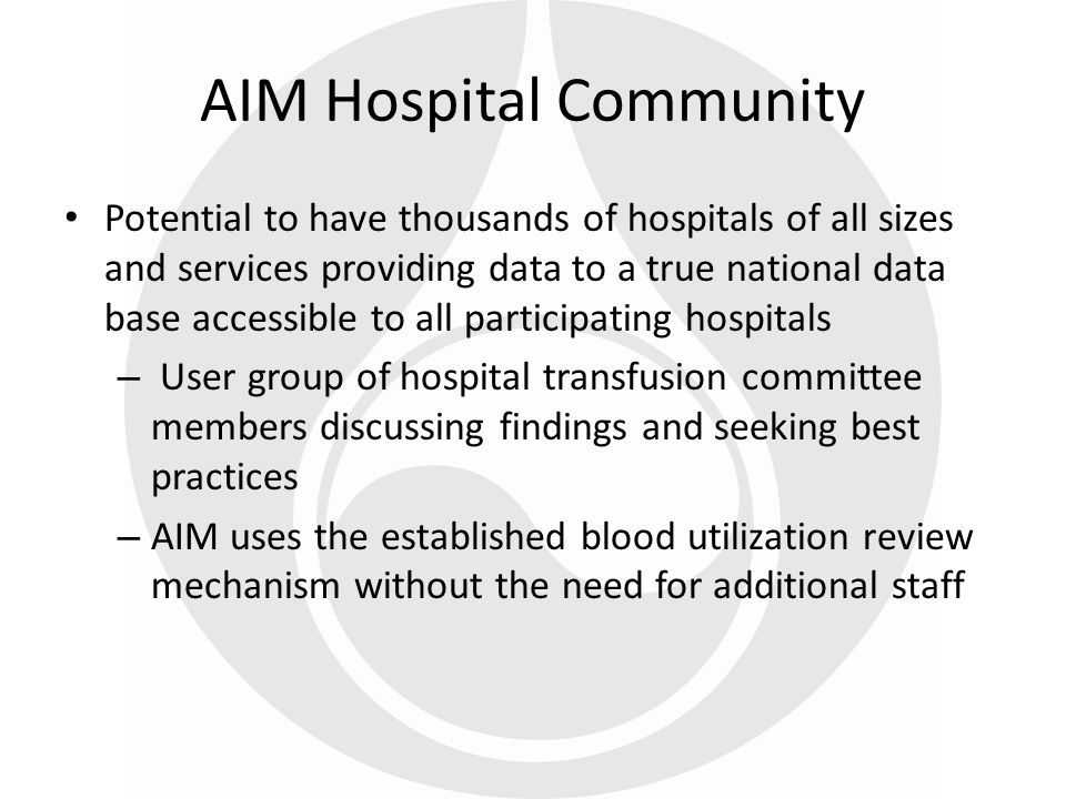 AIM Hospital Community