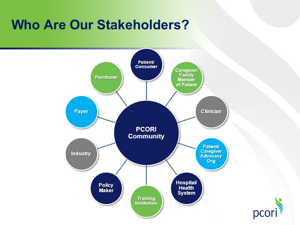 Who Are Our Stakeholders