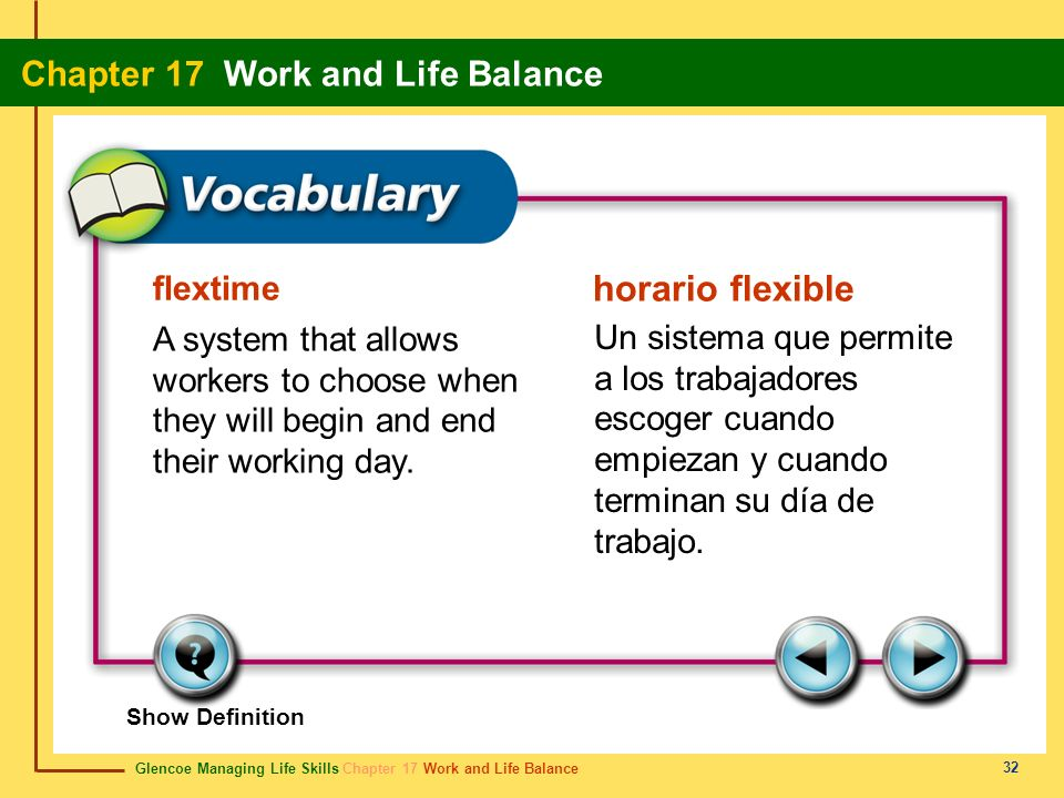 horario flexible flextime