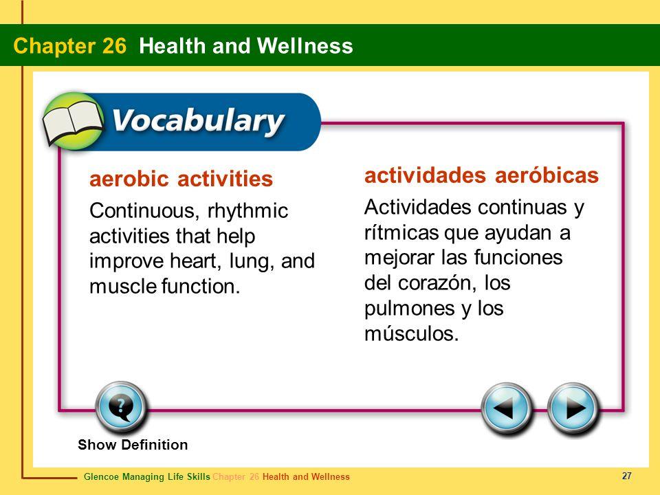 actividades aeróbicas