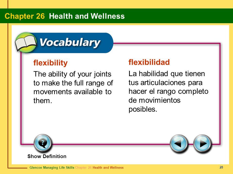 flexibility flexibilidad