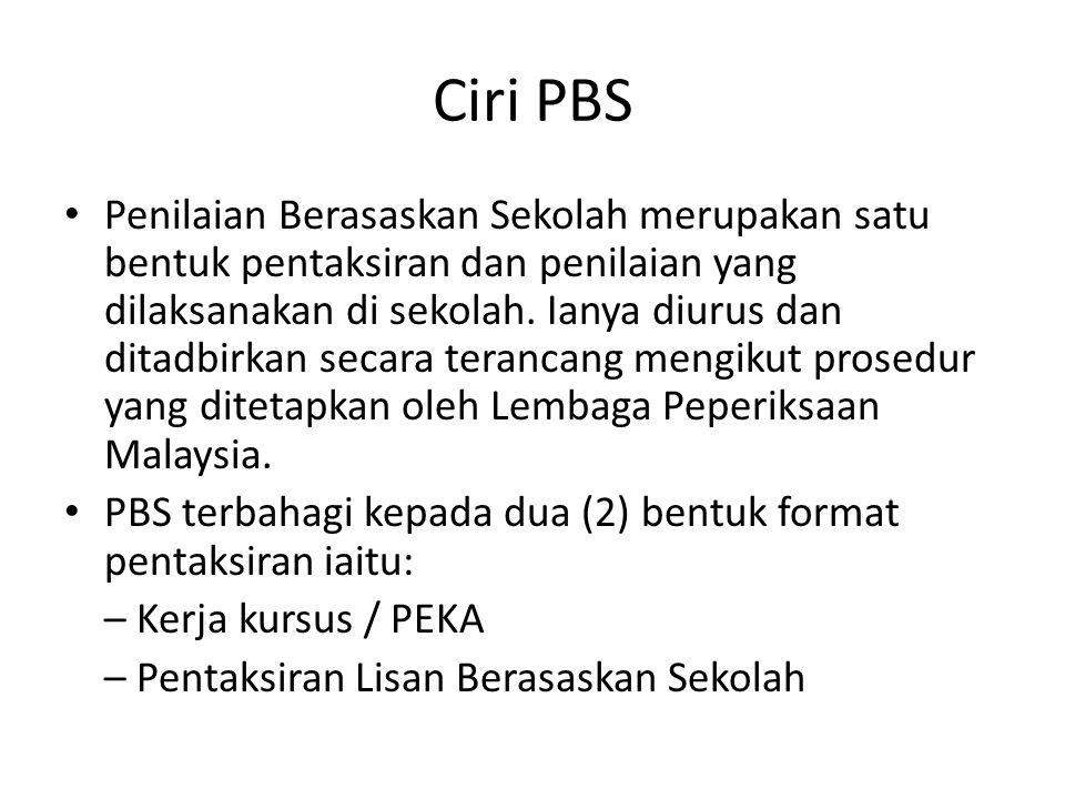 Ciri PBS