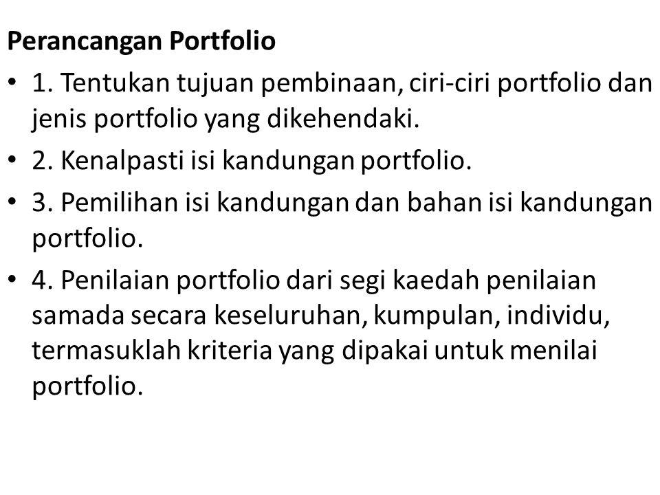 Perancangan Portfolio