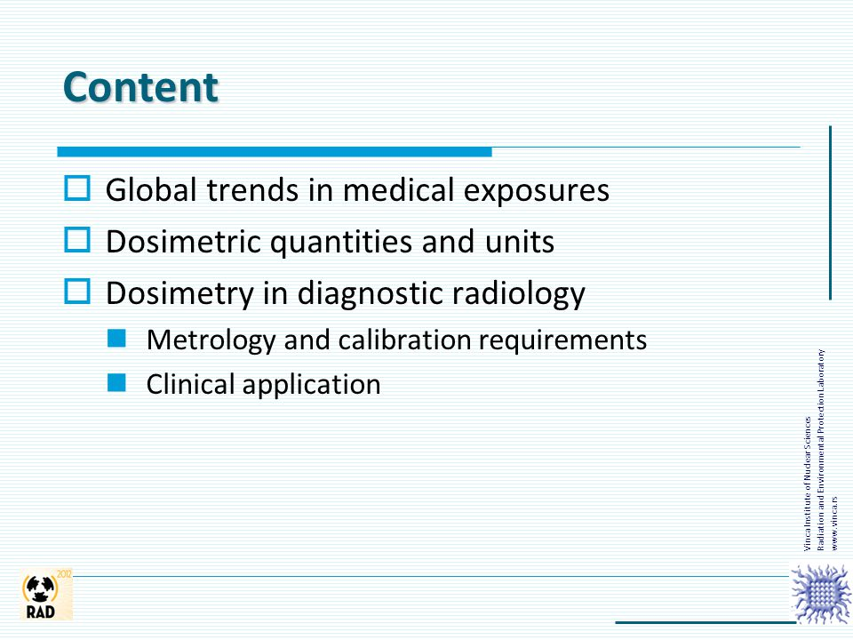 Content Global trends in medical exposures