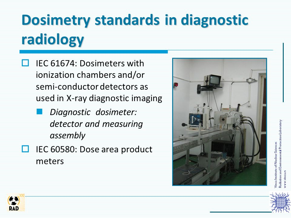 Dosimetry standards in diagnostic radiology
