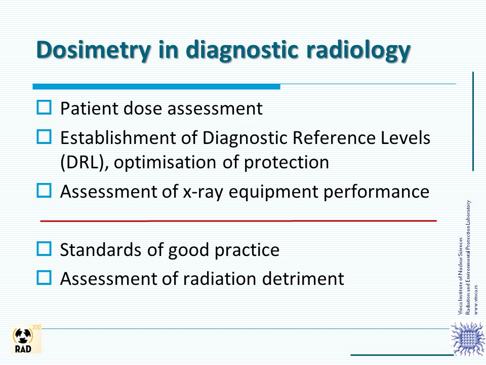 Dosimetry in diagnostic radiology