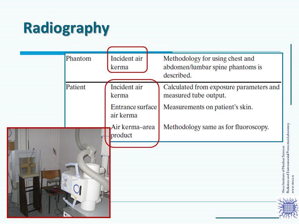 Radiography Radiation and Environmental Protection Laboratory