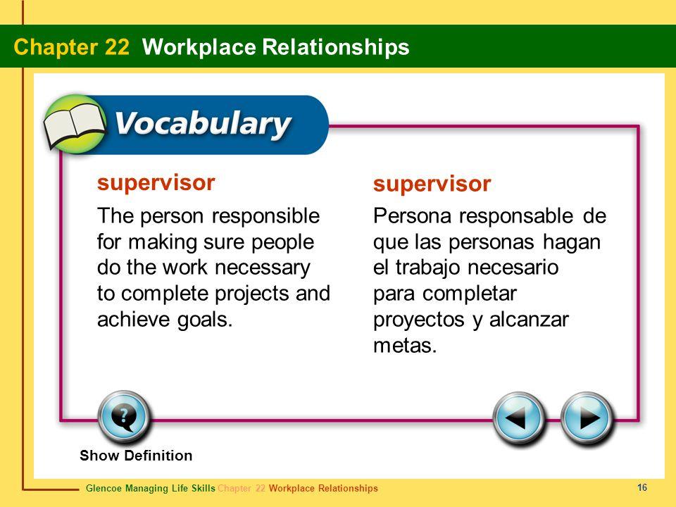 supervisor supervisor