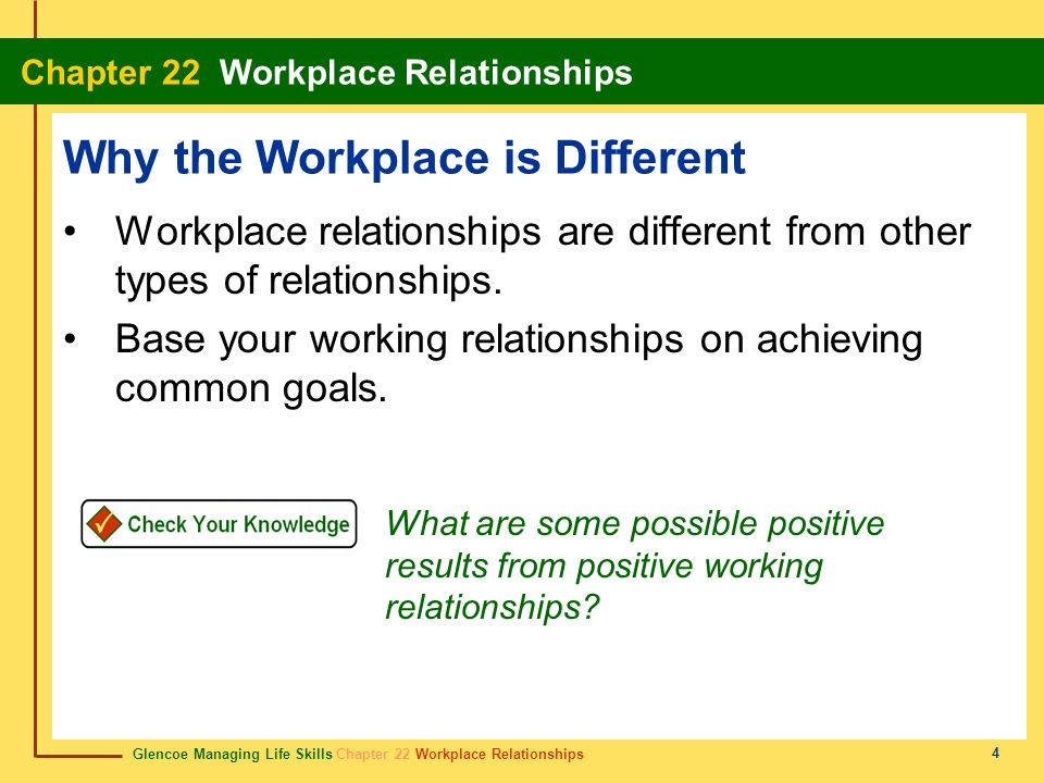 Why the Workplace is Different