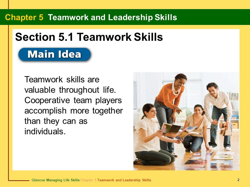 Section 5.1 Teamwork Skills