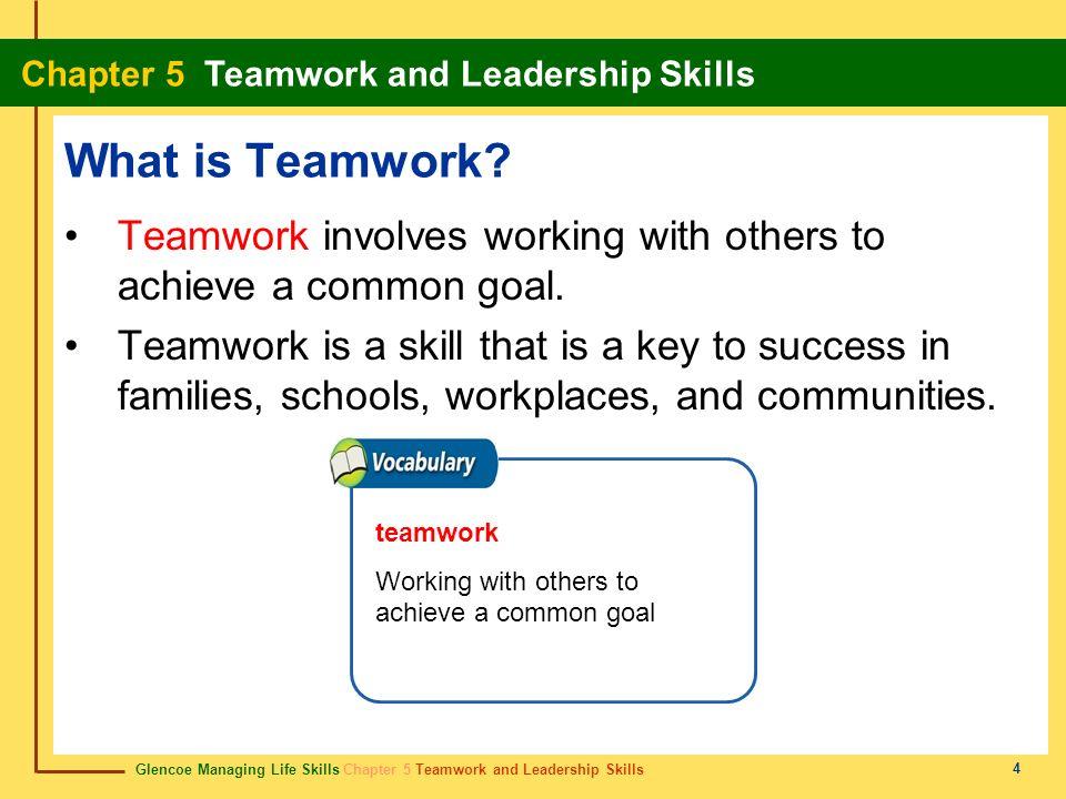 teamwork skill