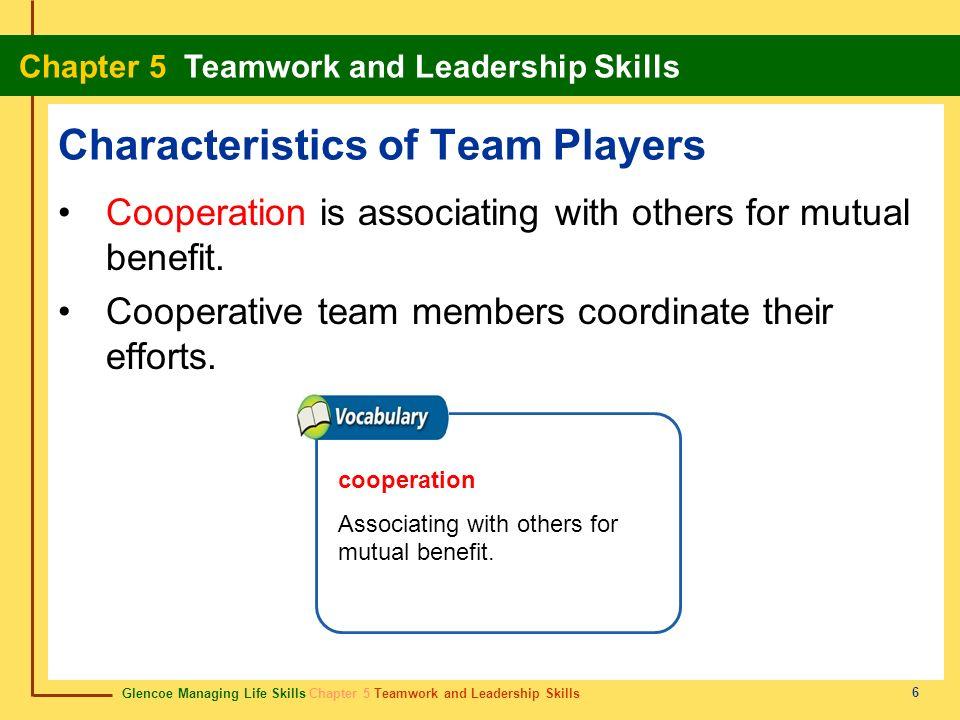 Characteristics of Team Players
