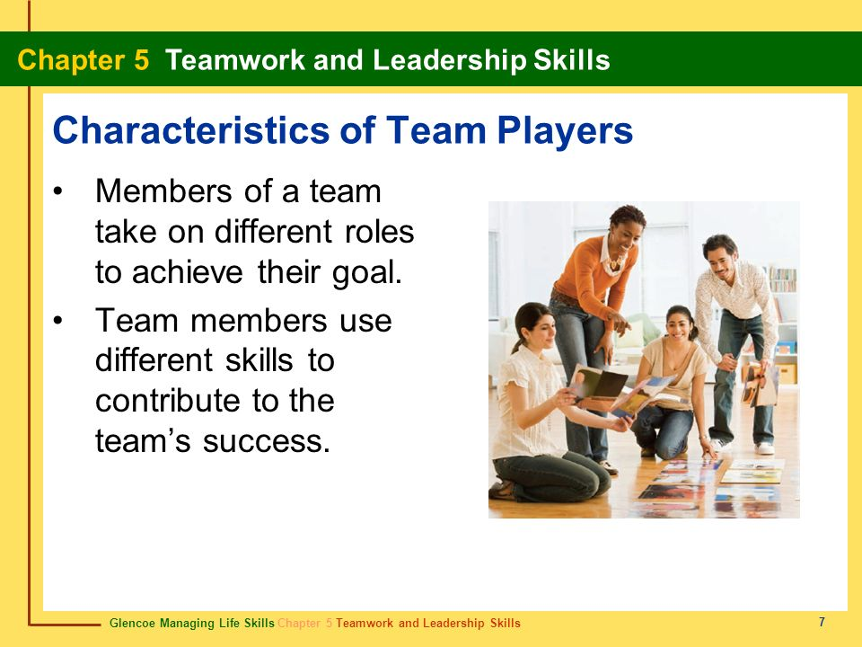 Characteristics of Team Players