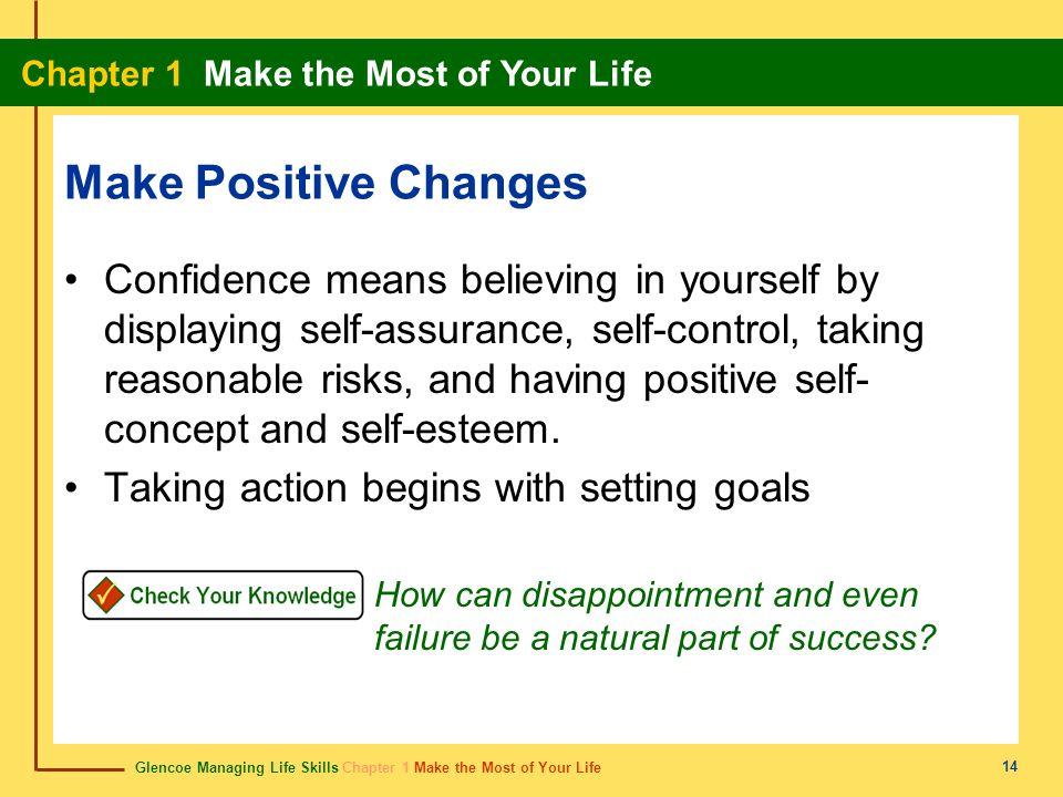 Make Positive Changes
