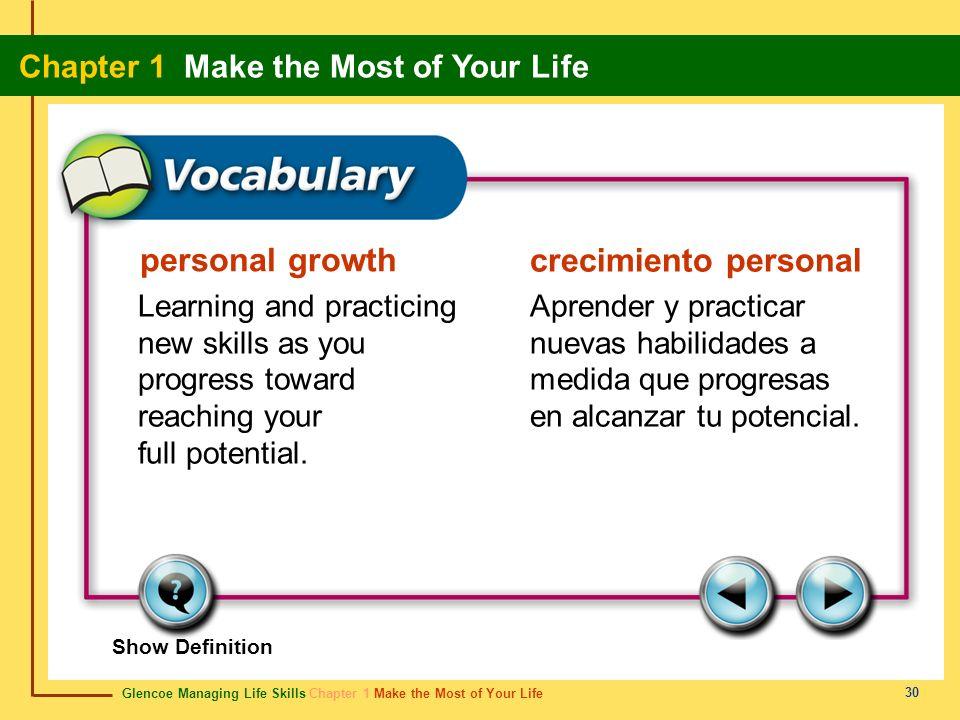 personal growth crecimiento personal