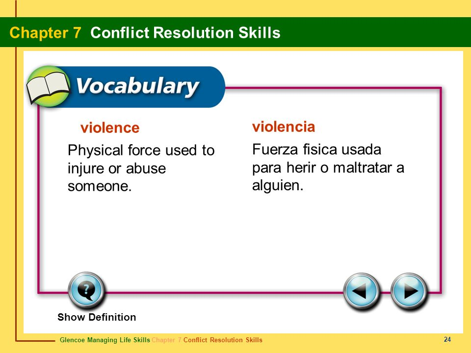 Physical force used to injure or abuse someone.