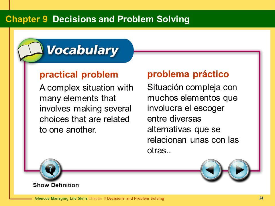 practical problem problema práctico