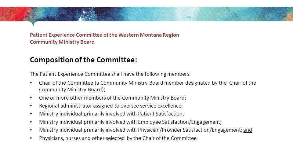 Composition of the Committee: