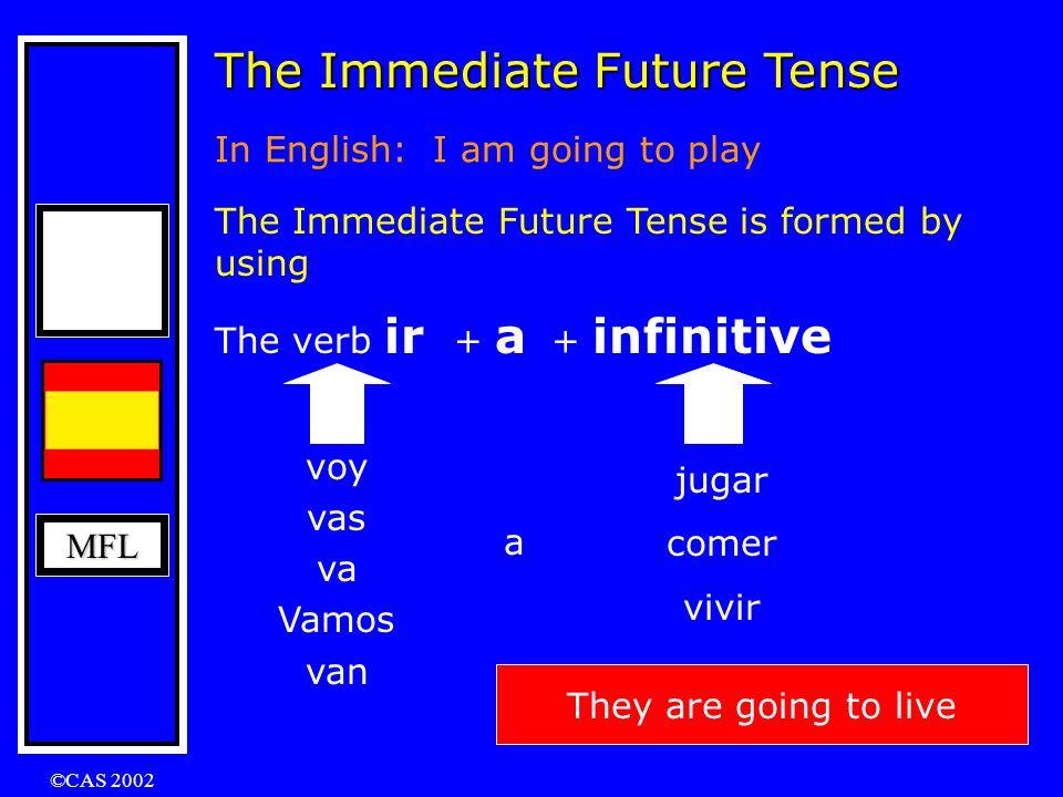 The Immediate Future Tense