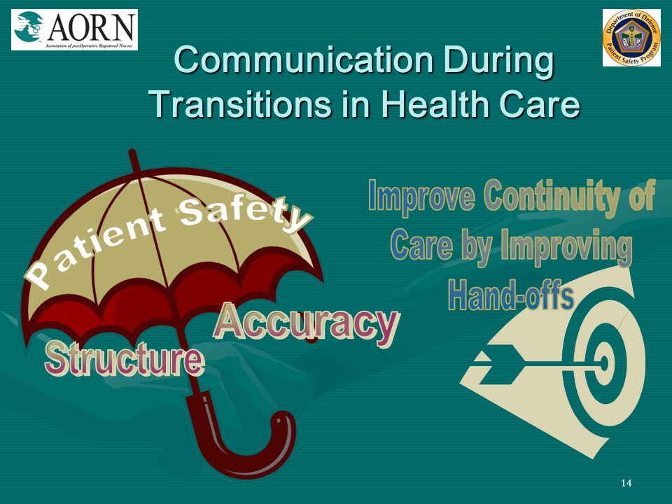Communication During Transitions in Health Care