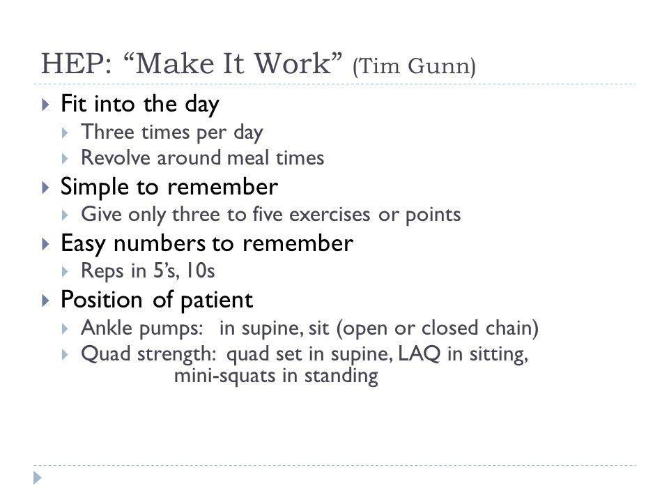 HEP: Make It Work (Tim Gunn)