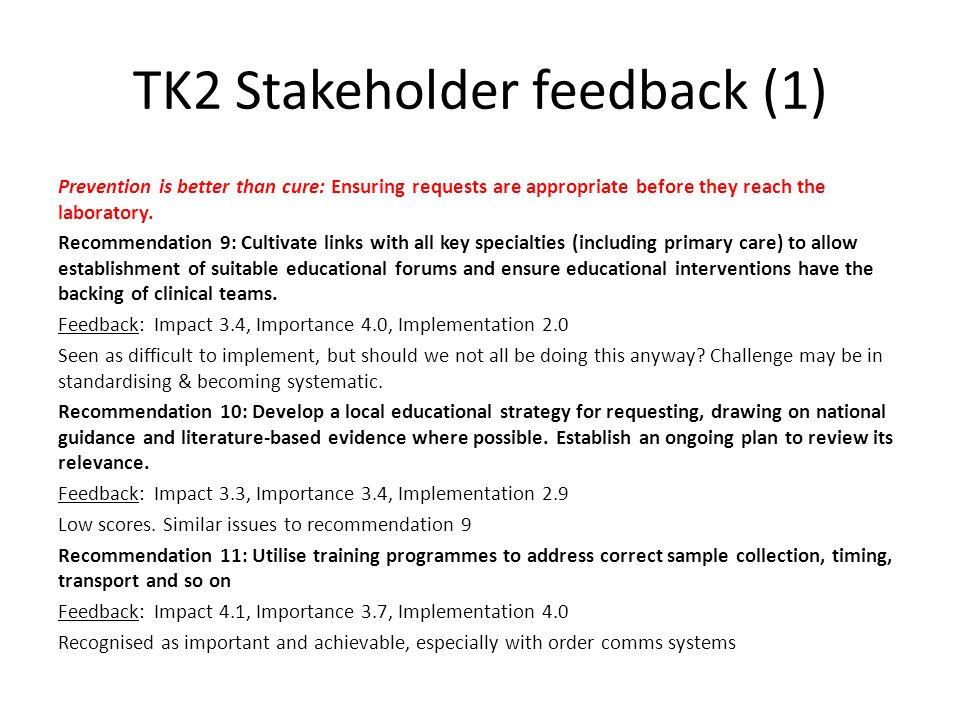 TK2 Stakeholder feedback (1)
