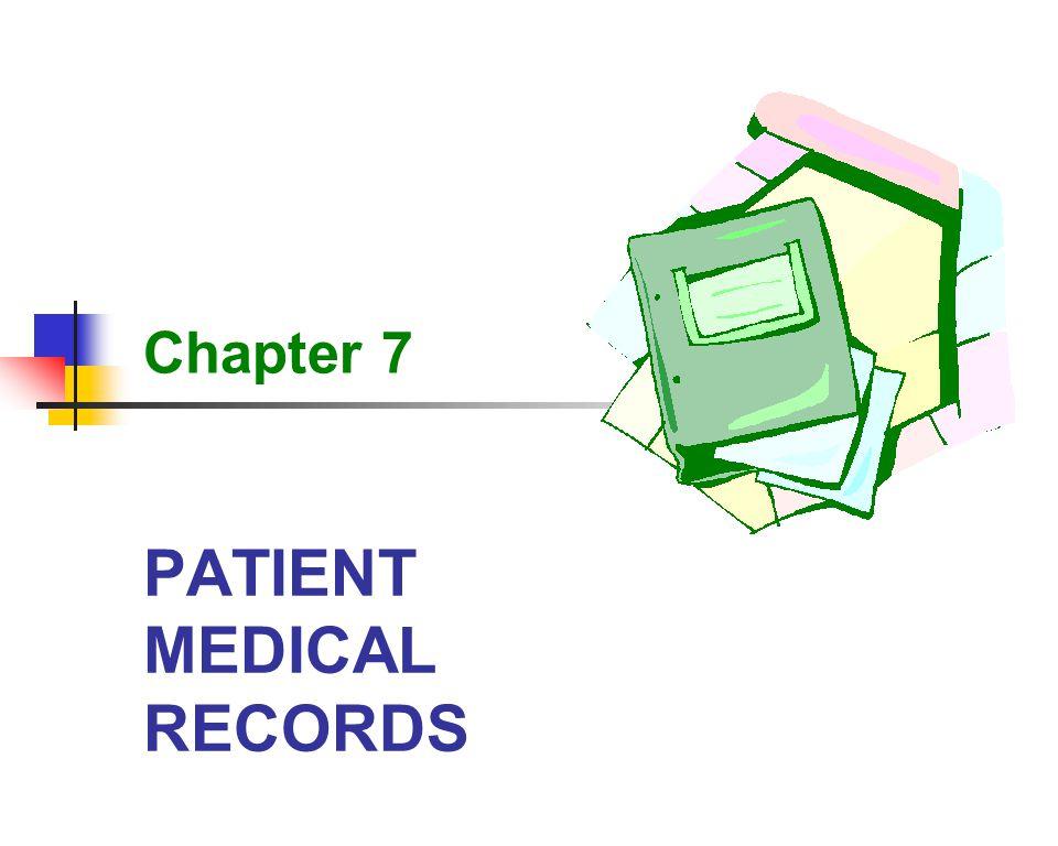 PATIENT MEDICAL RECORDS