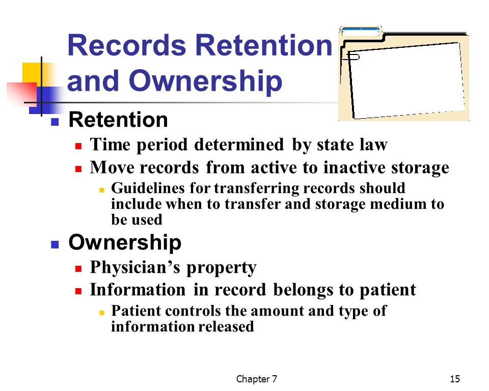Records Retention and Ownership