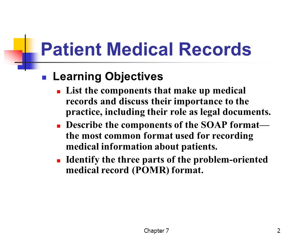 recording data about a patient s health The designated record set is generally broader than the legal health record because it addresses all protected health information along with business information unrelated to patient care the legal health record is generally the information used by the patient care team to make decisions about the treatment of a patient.