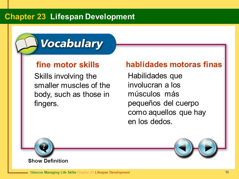 fine motor skills hablidades motoras finas