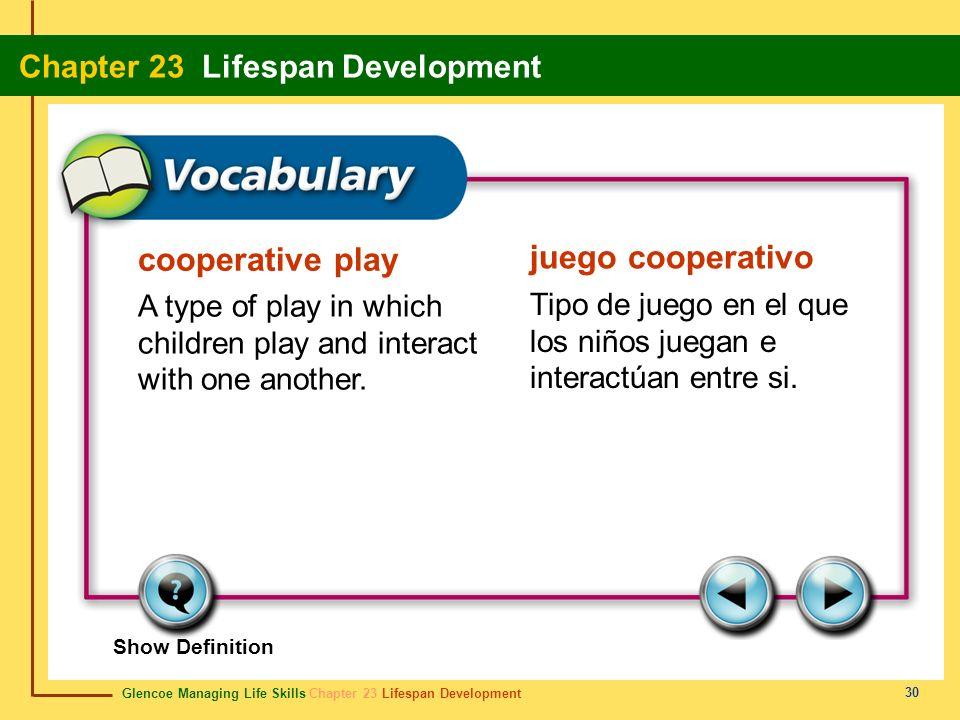 cooperative play juego cooperativo